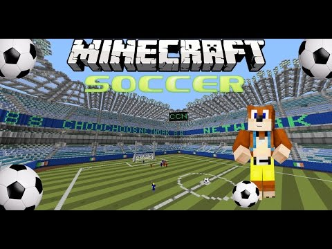 MineCraft Mini games - Football/Soccer - ChooChoosNETWORK - WeeWeeRonaldo?
