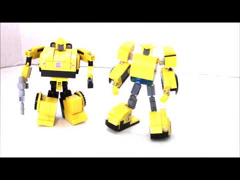 Lego Transformers G1 Bumblebee V3 by BWTMT Brickworks