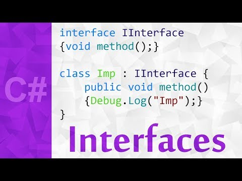 Interfaces Explained in C# 💻 An Interface Programming Tutorial in Unity with Examples