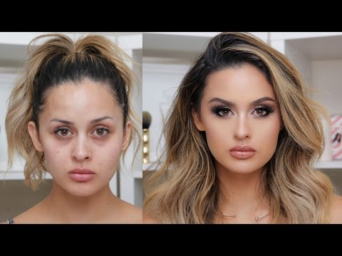 FULL COVERAGE GLAM MAKEUP TUTORIAL