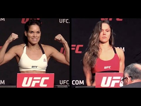 Ronda Rousey Vs Amanda Nunes Ufc 207 Official Weigh In
