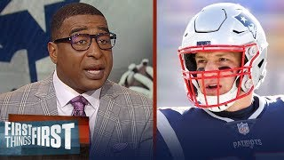 Download Cris and Nick react to Patriots TE Rob Gronkowski retiring for the league | NFL | FIRST THINGS FIRST Video