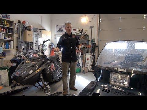 How to start a flooded snowmobile, PowerModz!