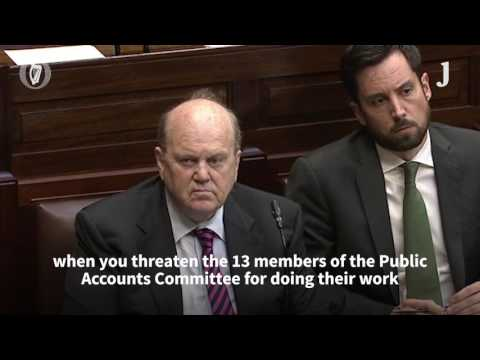 Fleming: Minister for Finance threatened to injunct PAC