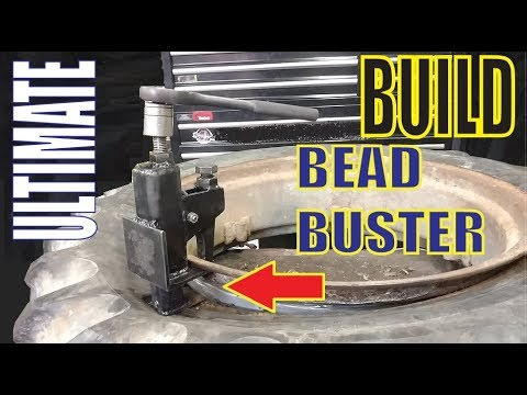 DIY Tire Bead Breaker BREAKS ANY BEAD!