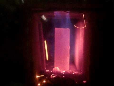 Downdraft Wood Gasification Barrel Stove