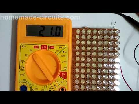 Illuminate 12V or 24V LED with a 1.5V Cell