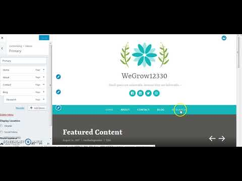 How to create our own website in Wordpress - Marathi