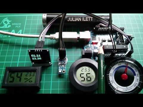1-Day Project: $10 DIY Arduino Hygrometer Si7021 OLED