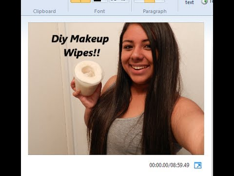 DIY Makeup Remover Wipes!!!!