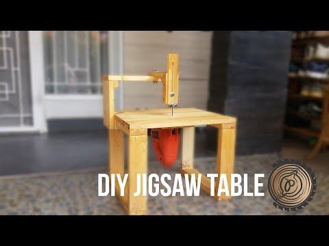 DIY JIGSAW TABLE