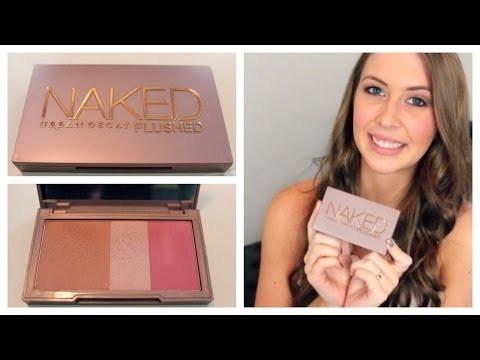 Urban Decay Naked Flushed Palette Review | Makeup Minute