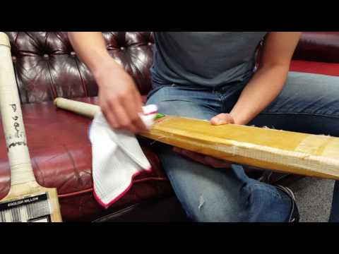How to Remove Fibreglass Tape from your Cricket Bat