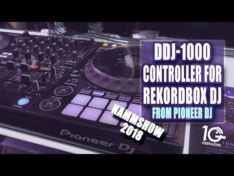 DDJ-1000 by Pioneer DJ for Rekordbox DJ Controller