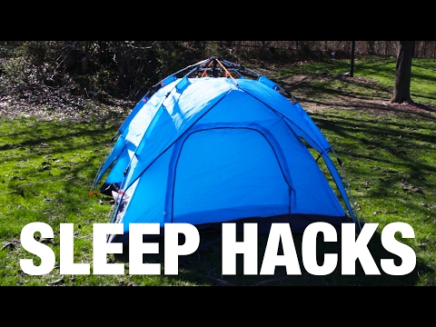 How To Get A Good Night's Sleep On Your Camping Trip