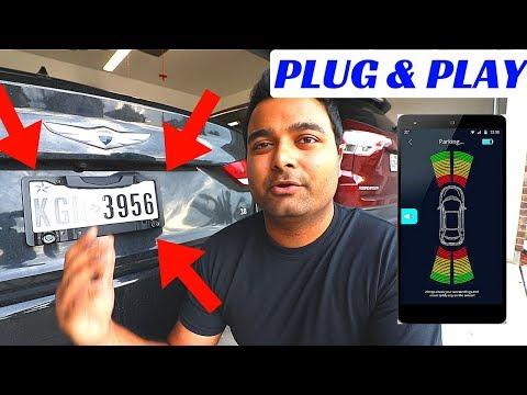 EASY WIRELESS Parking Sensors on LICENSE PLATE?!! (FenSens)