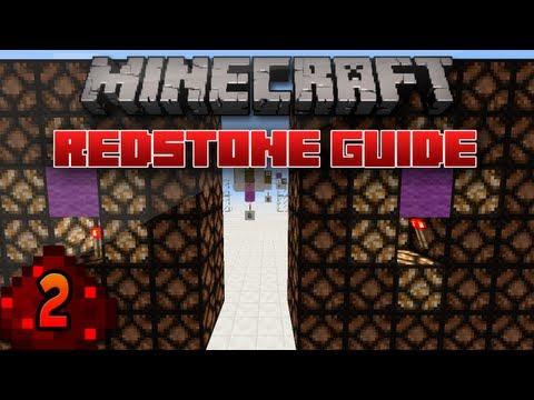 Minecraft Redstone Guide: 2 - Powering Blocks