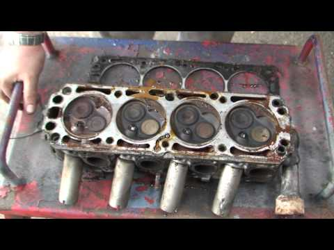 bodgit and leggit garage opel astra how to prep the head for new gasket (part 3)