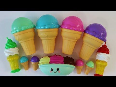 Ice cream & cake Squishies Crazy Candy Smooshy Mushy