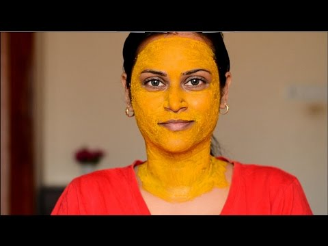 Lighten Face/Neck Using Turmeric