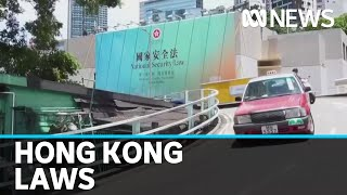 China's new national security law already being felt in Hong Kong | ABC News