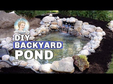 Build a Backyard Garden Pond