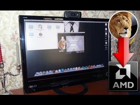 How To Install Mac OS X Lion 10.7 Retail On AMD PC