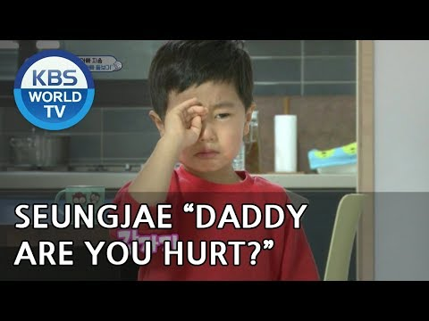 SEUNGJAE is worried about his Dad