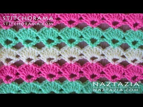 Crochet Shell Stitch 001 - Stitchorama by Naztazia