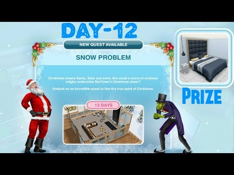 Simsfreeplay - Snow Problem Quest Day - 12 Christmas Holiday Update