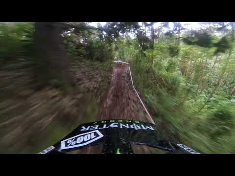 Sam Hill helmet cam - stage 3, Colombia EWS