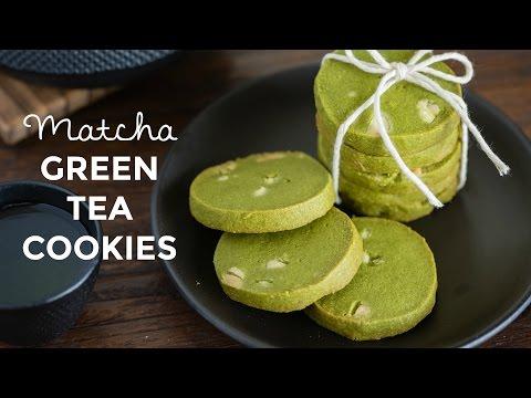 How To Make Green Tea Cookies (Recipe) 抹茶クッキーの作り方(レシピ)