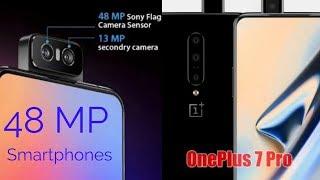 Best 48 Mega Pixel Smartphones in the Indian Market || OnePlus 7 Redmi K20 Pro Asus 6z ||