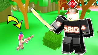Roblox: SLAYING A LEVEL 400 BOSS MONSTER!!!