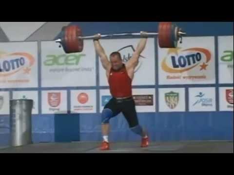Marcin Dolega 190kg Snatch and 230kg Clean and Jerk