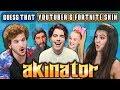 Guess That YouTuber And Fortnite Skin - Akinator #2 (React: Gaming)