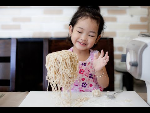 How to make Fresh Egg Noodles with the Phillip Pasta Maker