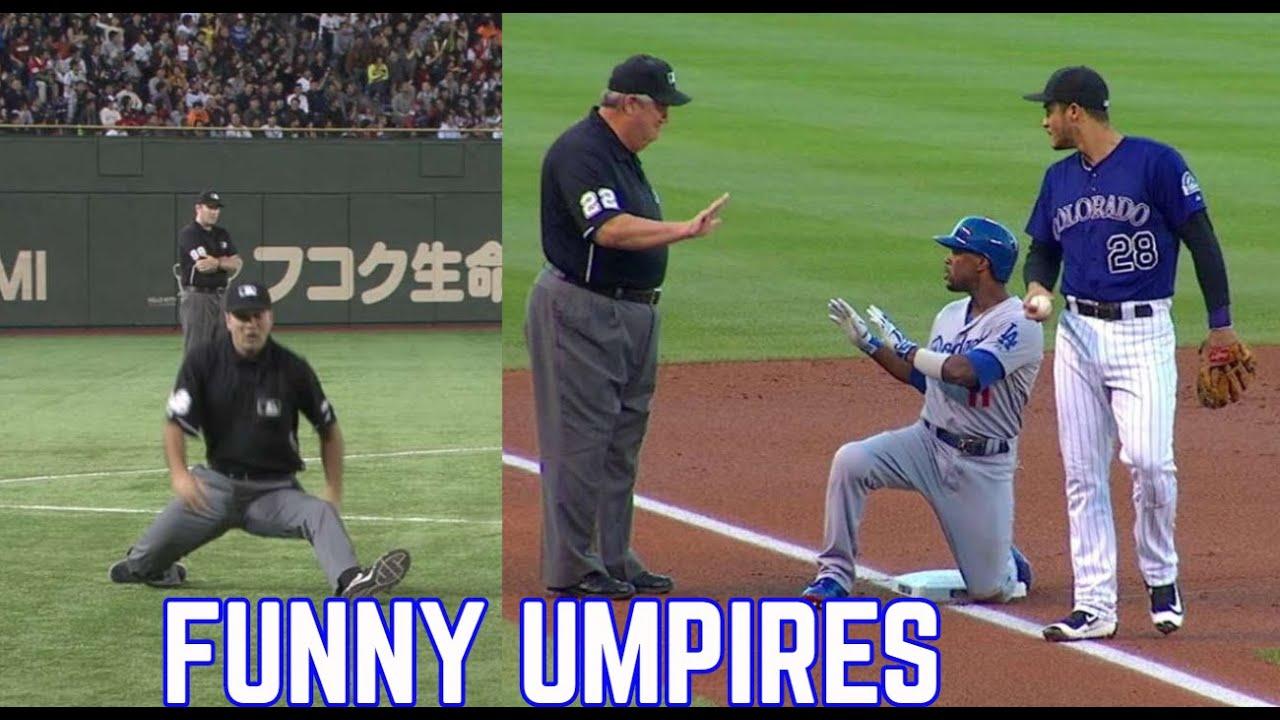 MLB   Funny Umpires Moments