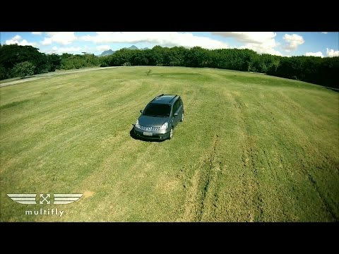 Nissan Livina - Aerial Shots