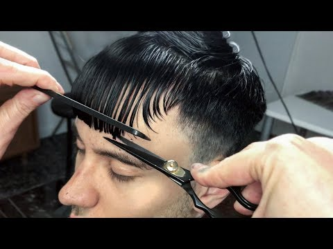 Summer 2018 Men's Haircut (Part I) | Textured Fringe | Top Trends | Ruben Ramos