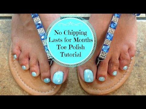 Polish Toenails: How to Polish Toes so They Don't Chip