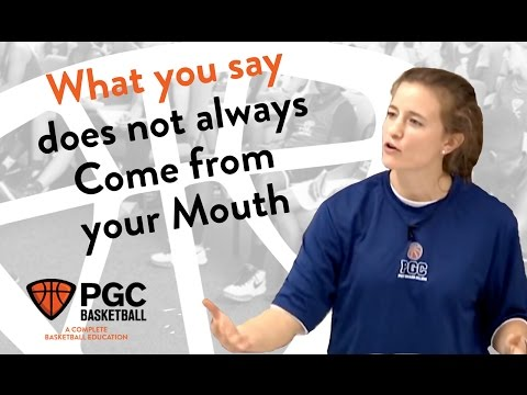 How Non-Verbal Communication Affects Performance   PGC Basketball   Communication