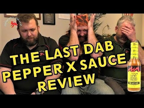 The Last Dab (Pepper X sauce) Hot Ones Review
