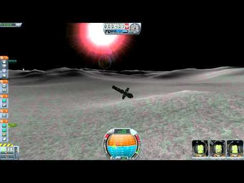 Low Moon Orbit - Kerbal Space Program