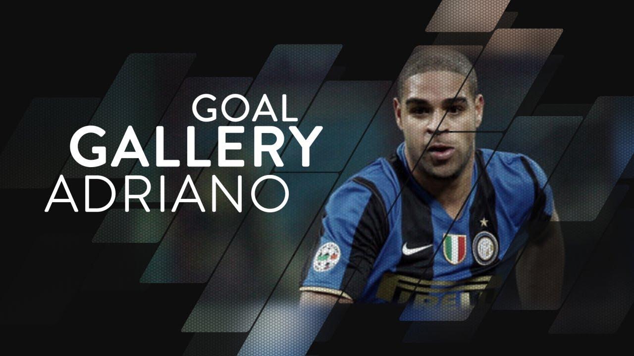 ADRIANO LEITE RIBEIRO   All of his 74 Inter goals 🇧🇷⚫️🔵