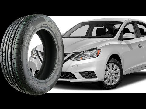 Stock Original Tire Size for all NISSAN SENTRA 2000-2017