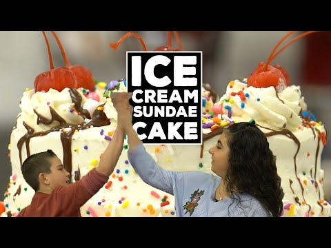 Cake Boss's Sofia & Marco make the BEST Ice Cream Sundae Cake EVER  | Welcome to Cake Ep12