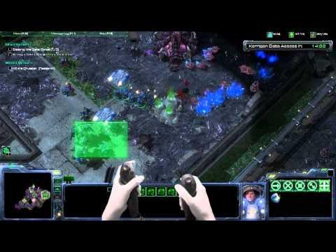 Razer Hydra - Starcraft 2 - Motion Control