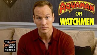 Download Aquaman or Watchmen Character? w/ Patrick Wilson Video