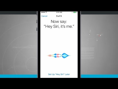 iPhone SE Tips - Setting Up and Using Hey Siri Command